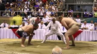 Sumo en los Juegos mundiales Cali 2013