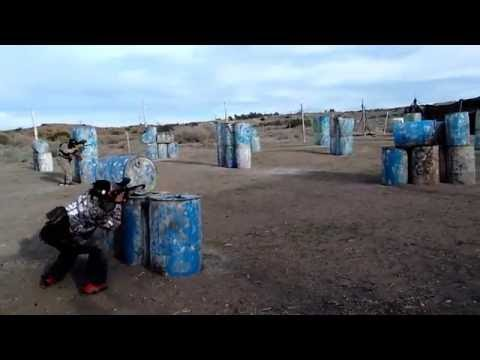 Recreational Paintball @ Paintball Wars, in Palmdale, California.