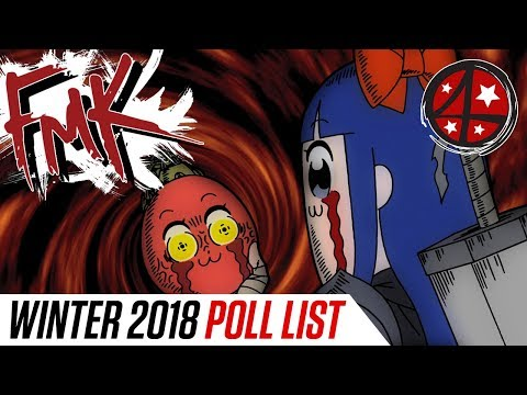 Winter '18 Anime Season POLL SPECIAL | Anime FMK
