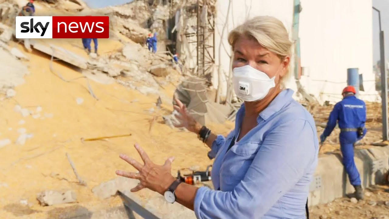 BREAKING: Inside the Beirut blast site