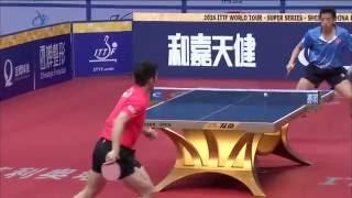 【中国OP2016】男子シングルス準決勝 樊振東(中国) vs 黃鎮廷(香港)