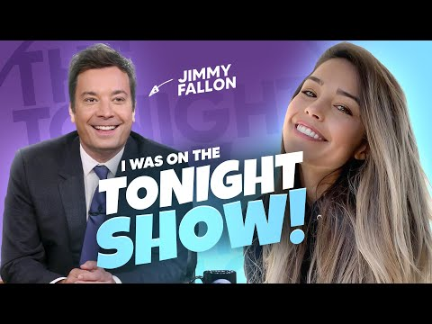 i was on the JIMMY FALLON SHOW with STRANGER THINGS?! LOL