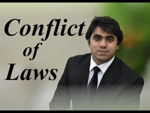 Conflict of Laws/ Private International Law - Lecture by Waj