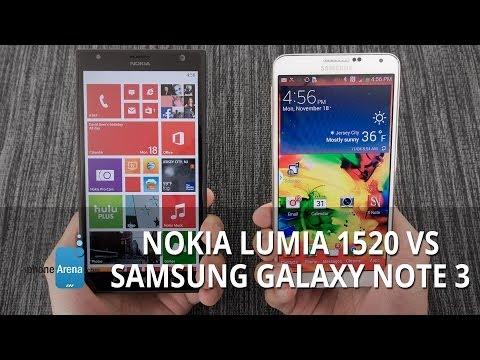 Vídeo: Samsung Galaxy Note 3 x Nokia Lumia 1520