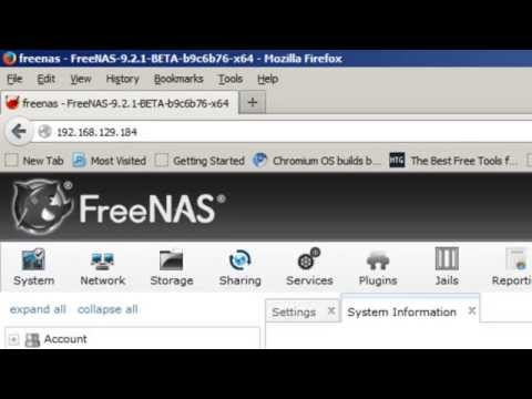 How To Configure and Install FreeNAS for iSCSI Target - YouTube