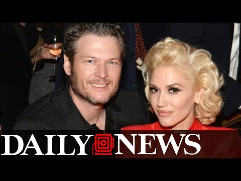 Blake Shelton And Gwen Stefani Are Getting Hitched With A Celebrity Event Planner