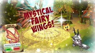 I got mystical fairy wings! Undertraded