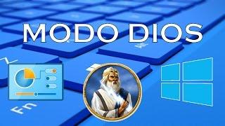 Como Activar El Modo DIOS En Windows 10 | Trucos ocultos de Windows 10 | 2018 | PC