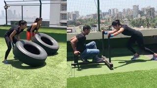 Katrina Kaif Intensive Workout Video