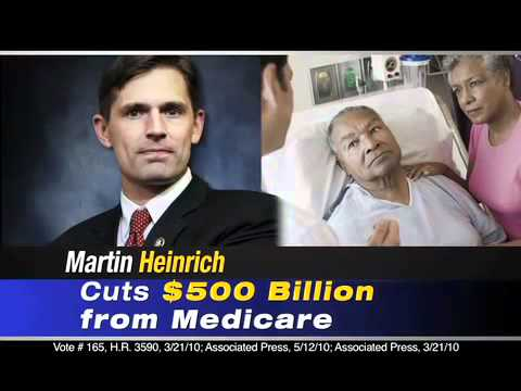 """AFF TV AD NM  """"Fork in the Road"""" Rep. Martin Heinrich"""