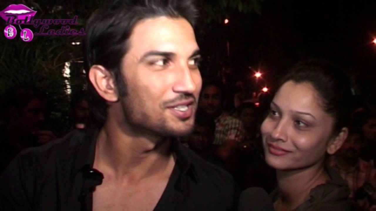 Sushant Singh Rajput With His Wife At Bhansali 50th
