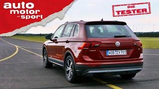 VW Tiguan 1.4 TSI: Zu Recht ein Bestseller? - Test/Review   auto motor und sport