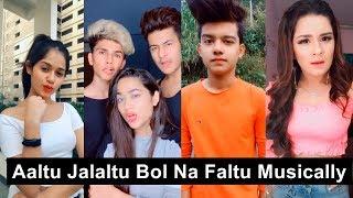 Aaltu Jalaltu Bol Na Re Faltu Musically   Avneet, Riyaz, Jannat, Manjul, Shirley