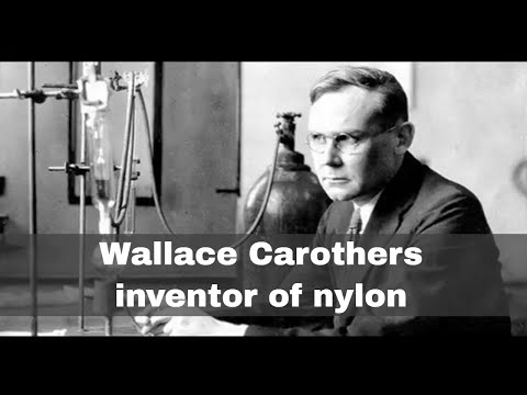 16th February 1937: Wallace Carothers receives a patent for nylon