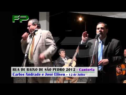 Rua de Baixo de São Pedro 2012 - Cantoria - Carlos Andrade e José Eliseu - 12 de Julho