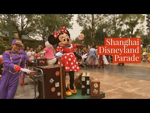 Vacations With Viyhui Must Visit Shanghai Disney Land Parade Mickey's Story Book Express Full Video