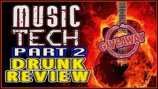 Music Tech 2017 w/ GIVEAWAY PART 2 - Drunk Tech Review: pedals, synths, guitars, effects