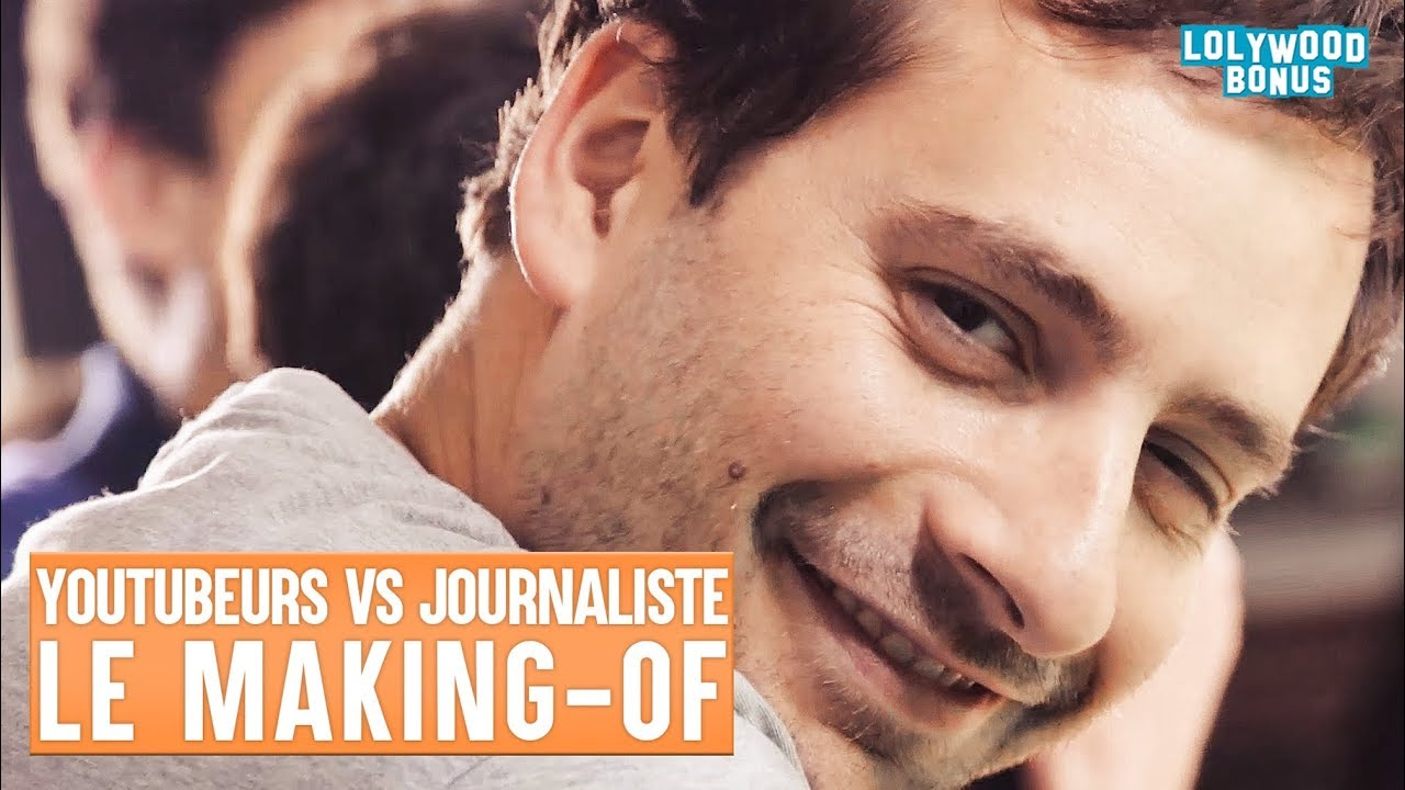 Youtubeurs VS Journaliste – Le Making-Of