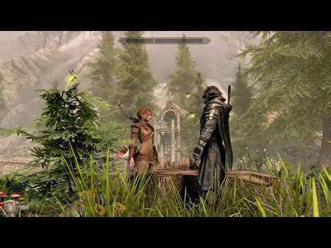 Skyrim: Special Edition - Songs of Valenwood  (ft Kaidan - Custom Voiced Follower)