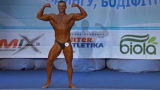 Никита Пустовит. Бодибилдинг. Юниоры свыше 80 кг. Финал. Произвольная программа