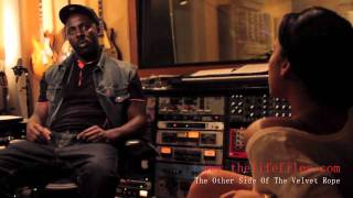 In The Studio With Idris Elba Pt. 3 On The Wire And Luther Television Show