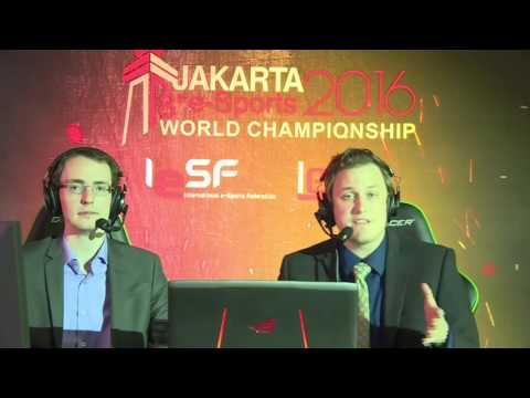 8th e-Sports World Championship Jakarta 2016 - LoL QuarterFinal
