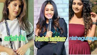 Neha kakkar,arishfa Khan and Nishaguragain Tik tok new video viral