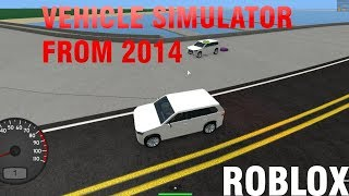 PLAYING VEHICLE SIMULATOR FROM 2014 (Grand island of Robloxia)