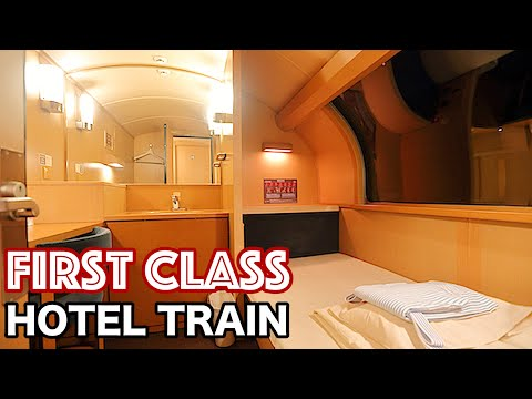 What a FIRST CLASS on THE OVERNIGHT TRAIN in JAPAN is Really Like? | SUNRISE SETO&IZUMO
