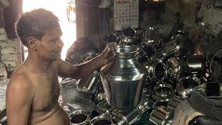 Let see how much effort takes to make Single Steel Vessel | Factory Visit