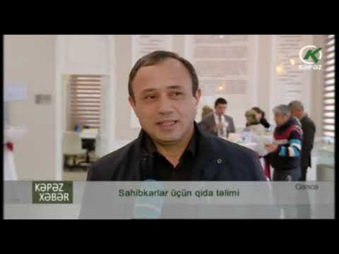 AGTA Gəncədə sahibkarlara təlim keçib - Kəpəz TV
