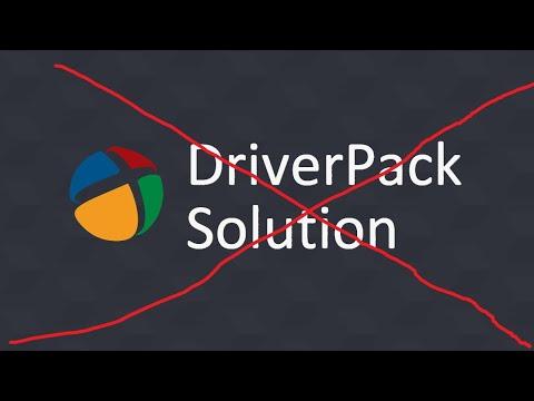 Не в коем случае не устанавливайте драйвера программой DriverPack #12