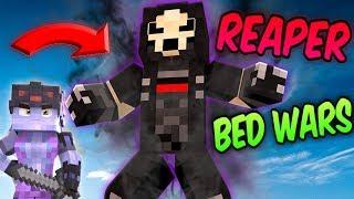 Minecraft OVERWATCH! REAPER + SOLDIER76 Team-Up! (Minecraft Bed Wars Roleplay)