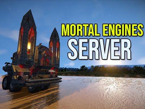 Mortal Engines Go On Rampage - Space Engineers Server |