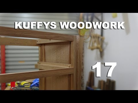 Wooden drawer guides - Summer woodworking series 17