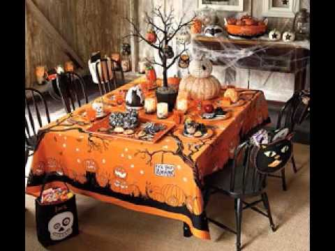 Diy kids halloween party decorations ideas youtube Diy halloween party decorations