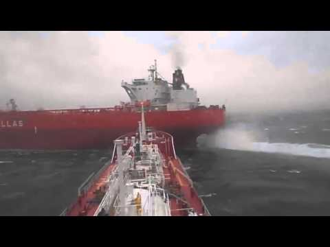 Real Video - 2 Ships (collision situation)  (Tuzla, Istanbul?)