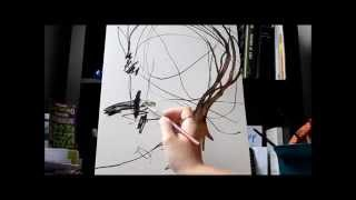Painting Timelapse Collaboration with a Toddler
