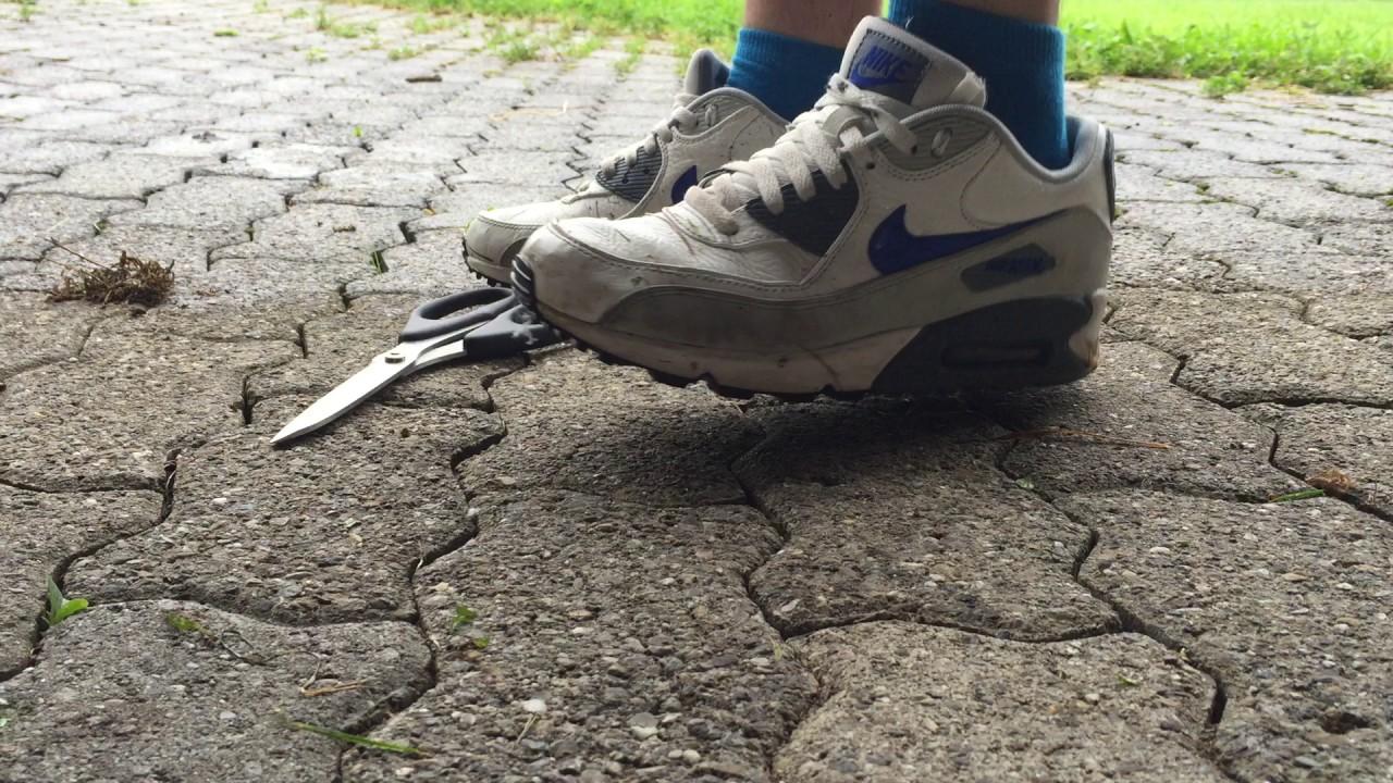 df28c77edd26 Nike Air max 90 trash part 1 - YouTube