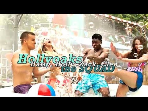 Hollyoaks | The Squad  [Holly, Harry, Cleo & Zack]