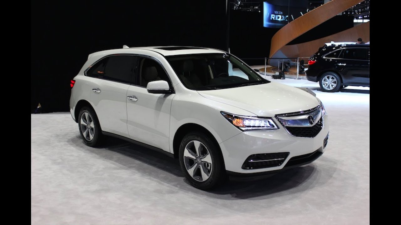 New Crossover Acura Mdx 2016 2017 Review Specs Interior Exterior