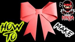 How to make: Kirigami Paper Ribbon