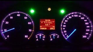 VW Golf V Plus Speedometer Lady Style Modification By:NSC