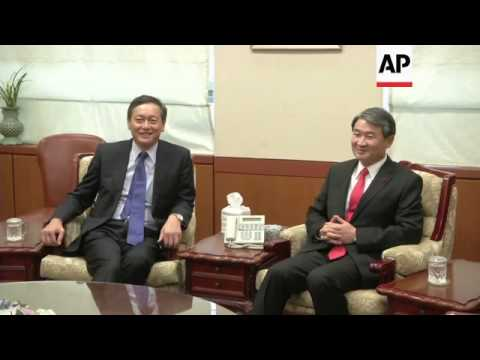 South Korean Deputy Foreign Minister meets Japanese counterpart