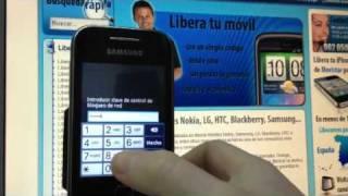 Liberar Samsung S5360 Galaxy Y en minutos, Movical.Net