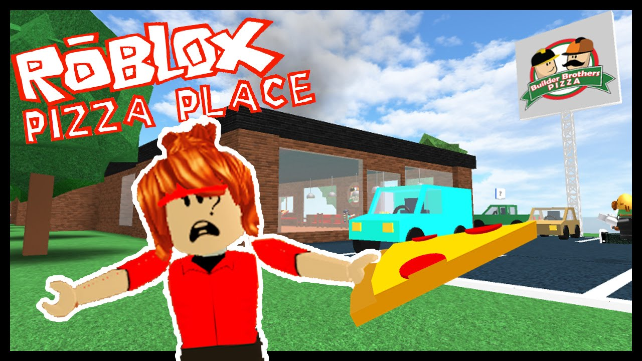 Working At A Pizza Place Roblox