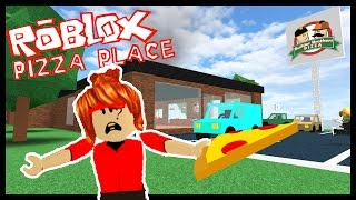 WORKING AT A PIZZA PLACE! - Roblox