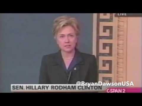Hillary Clinton's Senate speech on the Iraq War