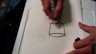 How to Draw a Top Hat - Easy Drawings