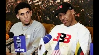 Lavar Ball GOES OFF on Lakers For not Drafting LiAngelo Ball!!